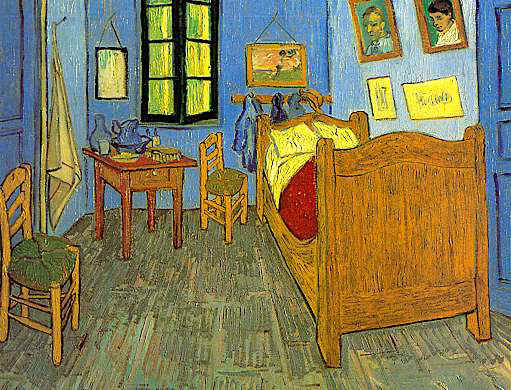 La Habitación de Vincent Van Gogh en Arles